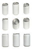 sodowane aluminiowe puszka Fotografia Royalty Free