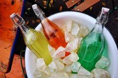Sodowane butelki Zdjęcie Royalty Free