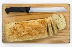 Sodowany chleb Pokrojony 03-Top Obraz Royalty Free