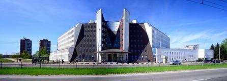 Sodra för social försäkring kontor i den Vilnius staden Arkivfoto