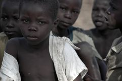 Soedanese Vluchtelingen in Arua, Oeganda Royalty-vrije Stock Fotografie