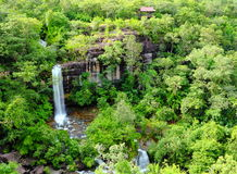 Soei Sawan Waterfall. Royalty Free Stock Photos