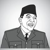 Soekarno Vector Portrait Drawing Illustration. October 31, 2017. Soekarno Vector Portrait Drawing Illustration Art. October 31, 2017 Stock Photos