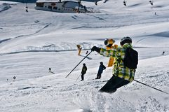 Soelden Alps Royalty Free Stock Image