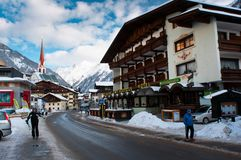 Soelden Alps Stock Photography