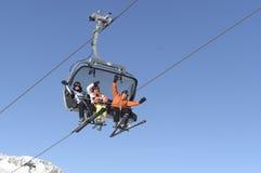 Soelden austria Estación de esquí fotos de archivo libres de regalías