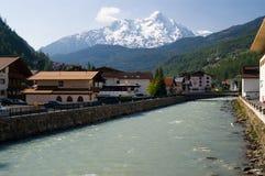 Soelden en el Tyrol, Austria Imágenes de archivo libres de regalías