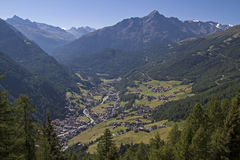Soelden in  Oetztal valley Royalty Free Stock Photography