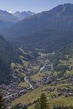 Soelden in  Oetztal valley Royalty Free Stock Image
