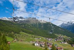 Soelden offseason Royalty Free Stock Photography