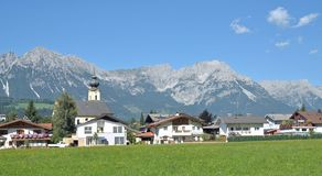 Soell,North Tirol,Austria Royalty Free Stock Photography
