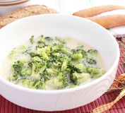 Soep van brokkoli Stock Afbeelding
