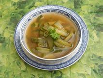 Soep van komkommer royalty-vrije stock foto's