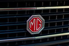 Free Soest, Germany - July 22, 2019: Close-up Of MG Car Logo Stock Photography - 157282022