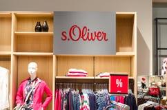 Soest Niemcy, Styczeń, - 9, 2019: s Oliver odziewa w sklepie zdjęcie royalty free