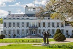 Soestdijk do palácio em Baarn, os Países Baixos imagem de stock