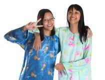 Soeurs adolescentes malaises IV Photographie stock libre de droits