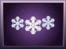 Soeurs de flocon de neige Photos stock