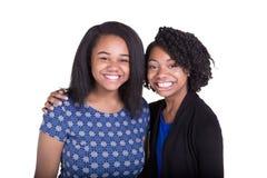 2 soeurs ou amis Image stock