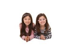 2 soeurs ou amis Photo libre de droits