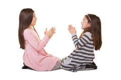 2 soeurs ou amis Photographie stock libre de droits