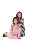 2 soeurs ou amis Photos libres de droits