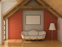 sofà del blocco per grafici Fotografia Stock
