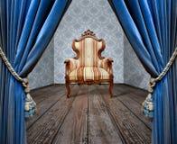 Sofà di Grunge Fotografia Stock