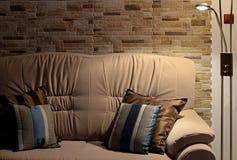 Sofà di interior design Fotografia Stock Libera da Diritti