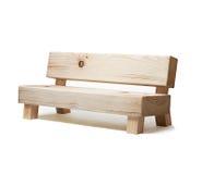 Sofà di legno Fotografie Stock Libere da Diritti