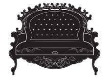 Sofà di Rich Baroque royalty illustrazione gratis