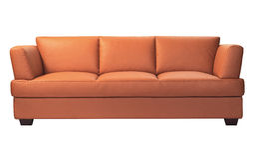 Sofà moderno Immagini Stock