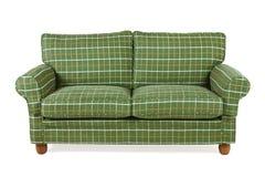 Sofà verde Fotografia Stock