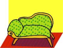 Sofá Ilustração do Vetor