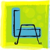 Sofá Ilustração Stock