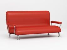 Sofá 3D stock de ilustración
