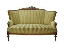 Sofá antigo, sofá de Biedermeier Fotos de Stock Royalty Free