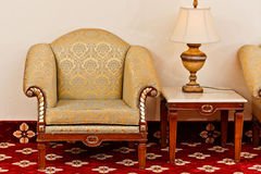 Sofá antiguo del estilo Imagen de archivo