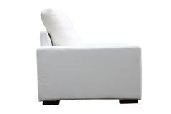Sofá branco Imagens de Stock