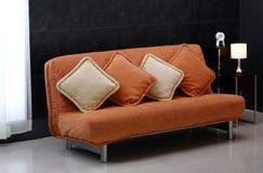 Sofá-cama fotografia de stock