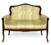 Sofá clásico Imagen de archivo libre de regalías