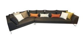 Sofá Comfy imagem de stock