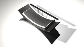 sofá 3D Imagen de archivo libre de regalías