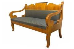 Sofá de Biedermeier isolado Foto de Stock Royalty Free