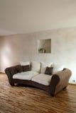 Sofá de Brown Imagem de Stock