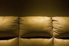Sofá de couro Fotos de Stock