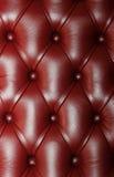 Sofá de couro Foto de Stock
