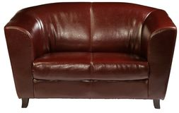 Sofá de couro Imagem de Stock Royalty Free