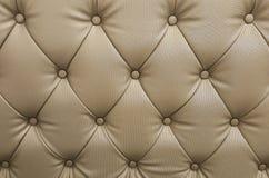 Sofá de couro do teste padrão imagens de stock