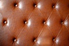 Sofá de cuero Imagenes de archivo